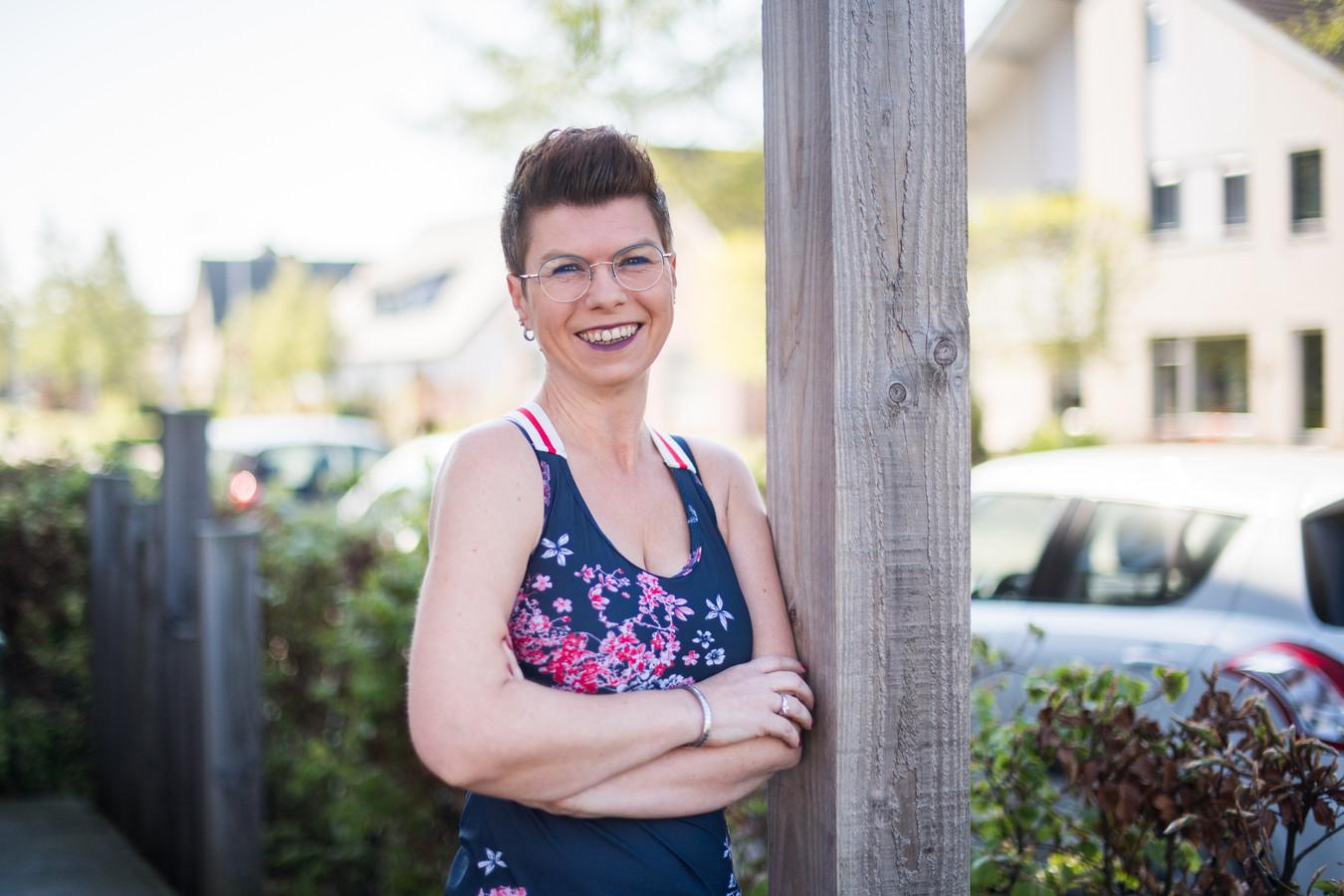 Angélique Janssen uit Herveld is altijd in de weer voor de Avondvierdaagse in haar woonplaats.