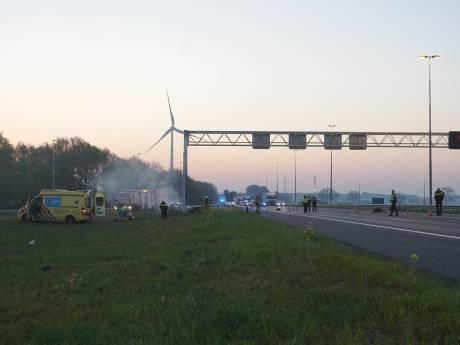 Vier doden door ongeluk op A1 bij Deventer