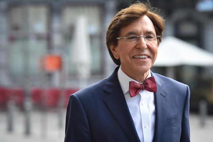 Le président du Parti socialiste Elio Di Rupo.