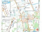 Veel nieuwe windmolens langs de A16, ook drie bij Galder: hier komen ze te staan