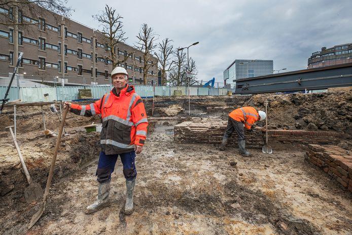 Aan de Vleutensevaart in Utrecht-West zijn in december vorig jaar ook opgravingen gedaan.