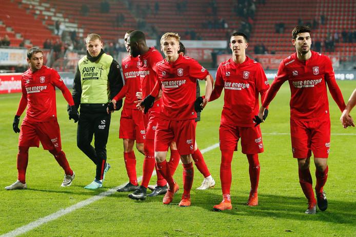 FC Twente viert de zege