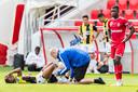 Charly Musonda liep vorige week in de oefenwedstrijd tegen Royal Antwerp een zware knieblessure op.