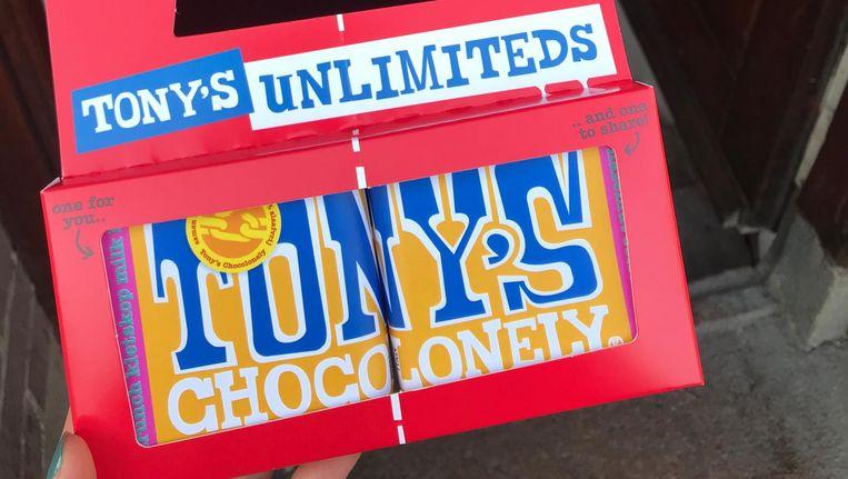 De redactie koos voor melkchocolade met kletskop, coffeecrunch en hazelnoot. Proeven? Je kan hem winnen! Beeld Het Parool