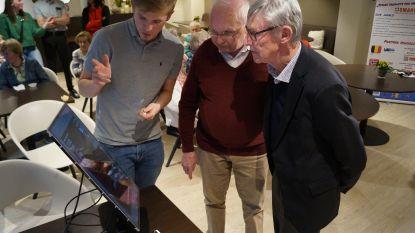 Leerlingen VTI presenteren uitvindingen die het leven van bejaarden makkelijker moeten maken
