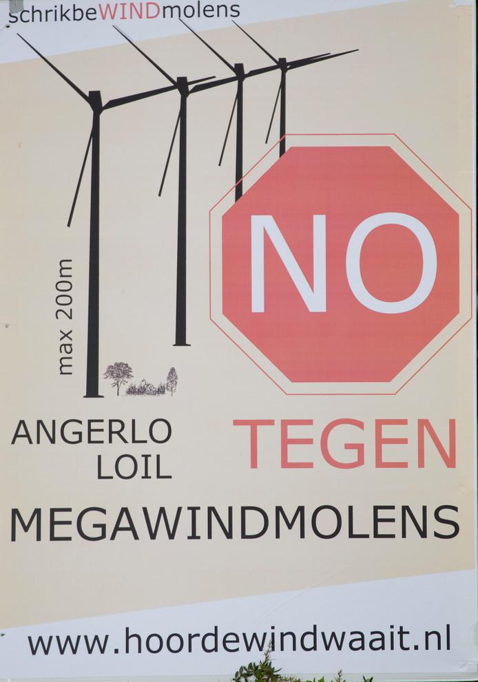 Een poster van Hoordewindwaait.nl.