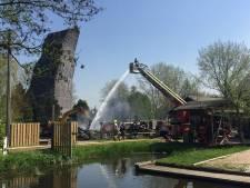 Outdoor Valley blijft open ondanks compleet afgebrand pand