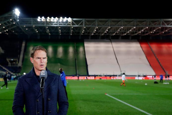 Frank de Boer afgelopen woensdag in Bergamo.