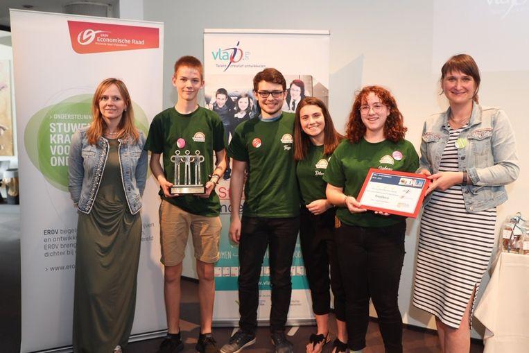 Minionderneming Treedeco won de award voor beste samenwerking met het bedrijfsleven.