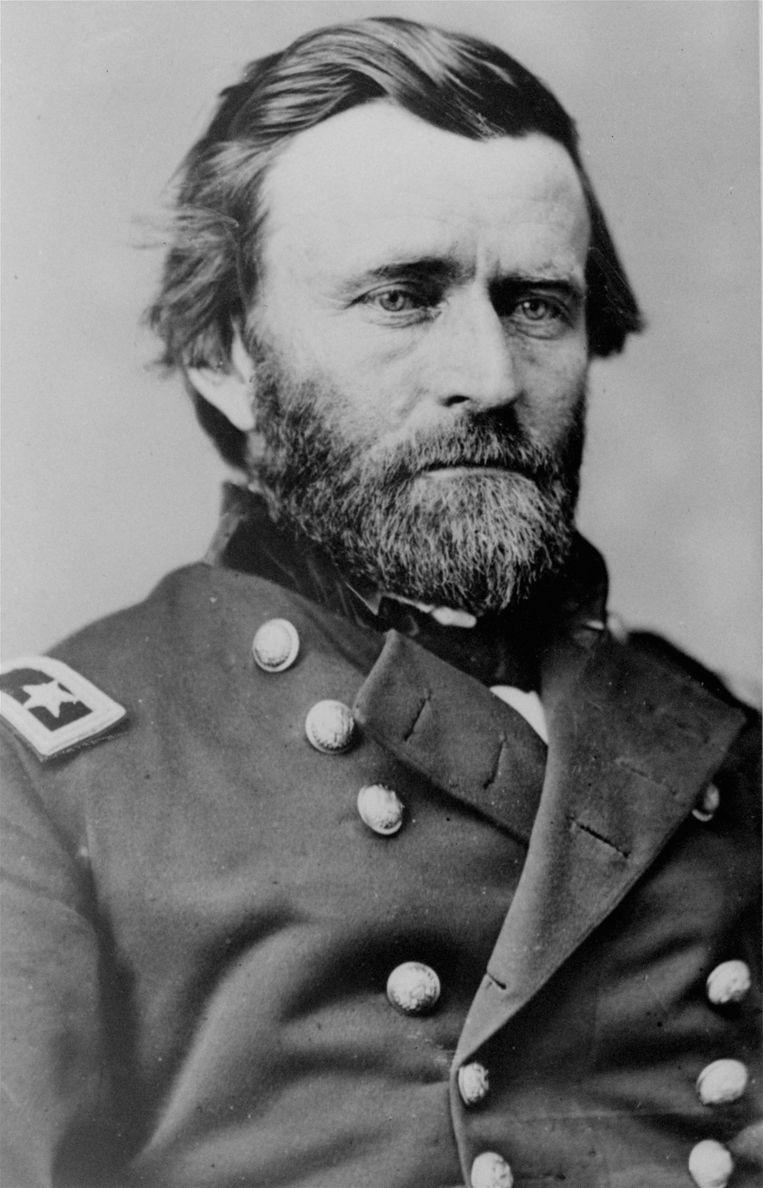 De echte Ulysses S. Grant. De generaal die de Amerikaanse burgeroorlog won voor de Noordelijken.