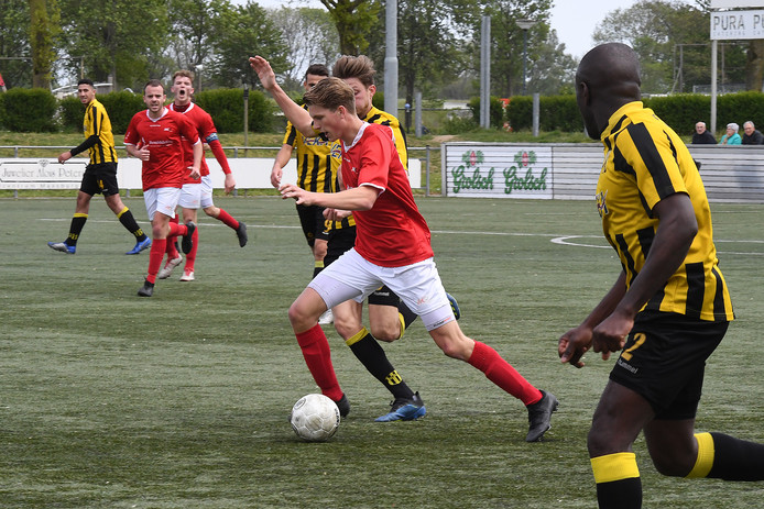 JVC Cuijk eerder dit seizoen tegen OFC.