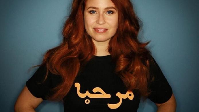 Actrice Sanne Vogel