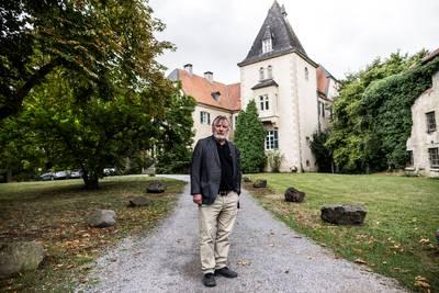 → Prof. dr. Raphael-Maria Goldstein voor de Ruhrakademie in Schwerte. Hij is ervan overtuigd dat hij een naoorlogse zoon is van Otto Frank.