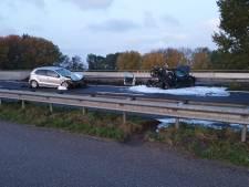 Twee gewonden bij ongeluk op A17 ter hoogte van knooppunt De Stok