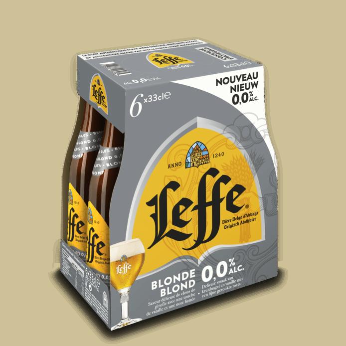 Leffe 0.0 is het eerste alcoholvrije abdijbier in Nederland
