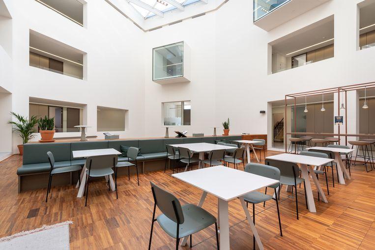 De coworkingplaats waar studenten kunnen studeren