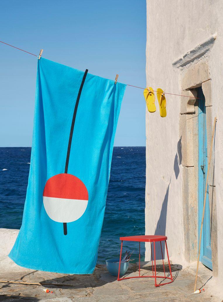 'Sommar'-handdoek, 180 x 100 cm, € 12,95. Ikea.com Beeld