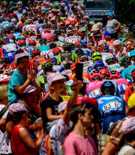 Eindelijk eerste rustdag voor renners in Tour de France