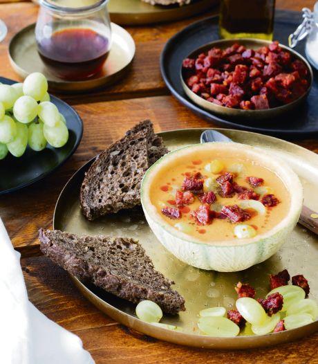 Wat Eten We Vandaag: Meloengazpacho met chorizo