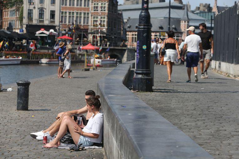 Beeld ter illustratie, Graslei in Gent.