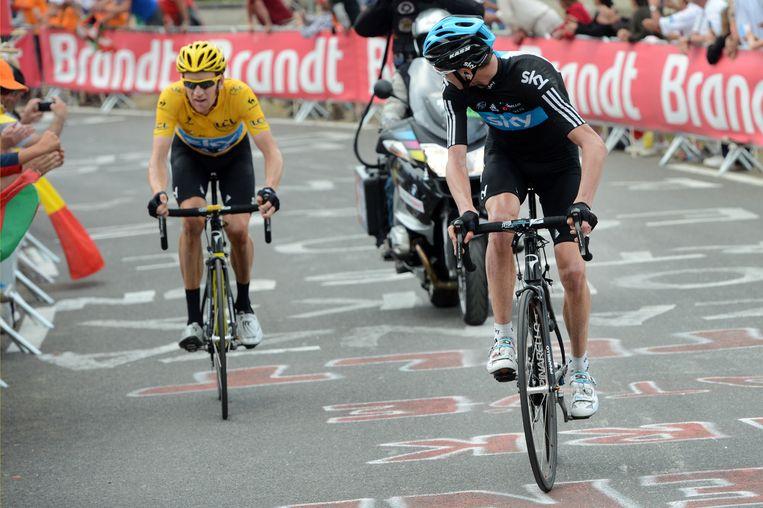 Froome had in de Tour van 2012 betere benen dan Wiggins, maar besloot toch te wachten op zijn kopman.