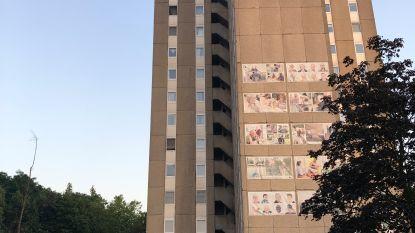 """Bewoners van flatgebouwen op de Henri Spaaklaan zitten al twee weken in de kou: """"Mijn vriendin probeert zich te verwarmen met theelichtjes"""""""