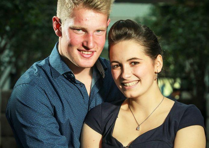Nathalie Hellinckx en Geoffrey De Raedt