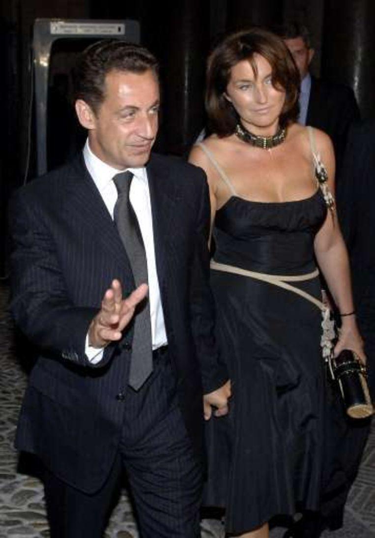 Sarkozy en Cécilia leefden al sinds 2005 feitelijk gescheiden.
