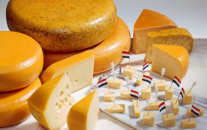 Nederlandse kaas is een geliefd exportproduct.