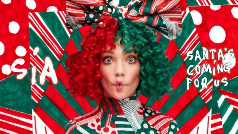 Maddie Ziegler op het kerstalbum van Sia.