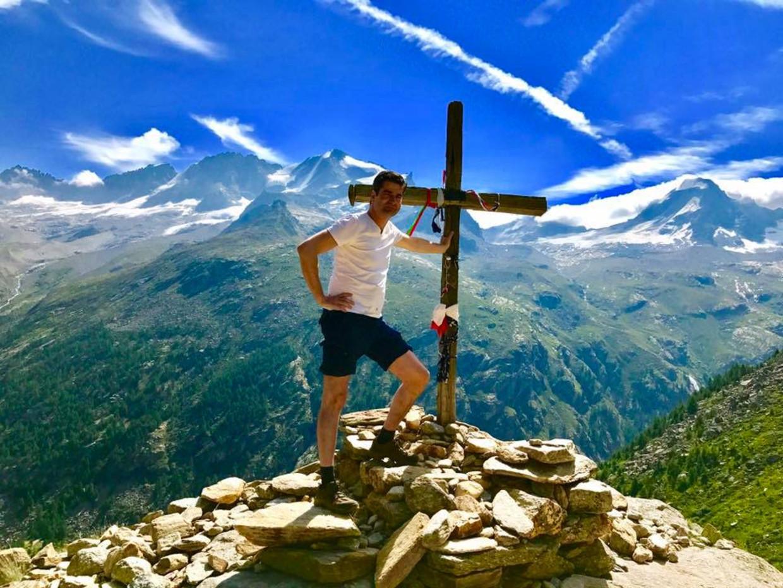 Wandelen in de Italiaanse Alpen.
