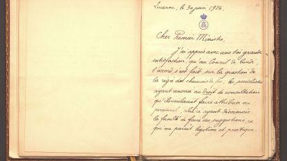 Poetin schenkt brieven van koning Albert I terug aan België