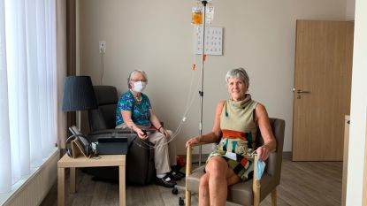 Moutershof opent therapiecenter voor CVS en fibromyalgie. Eerste patiënt ging vandaag aan infuus