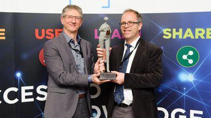 Bart Van der Spiegel krijgt award voor project 'energiebesparende treinen'