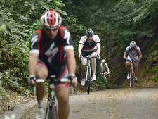 Agressief gedrag en slechte weg gevaar voor wielrenners