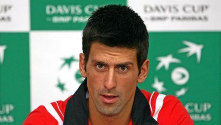 Novak Djokovic. ANP Beeld