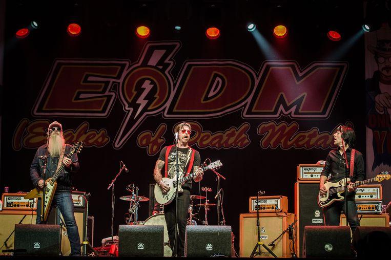 Eagles of Death Metal komt voor het eerst naar Graspop Metal Meeting.