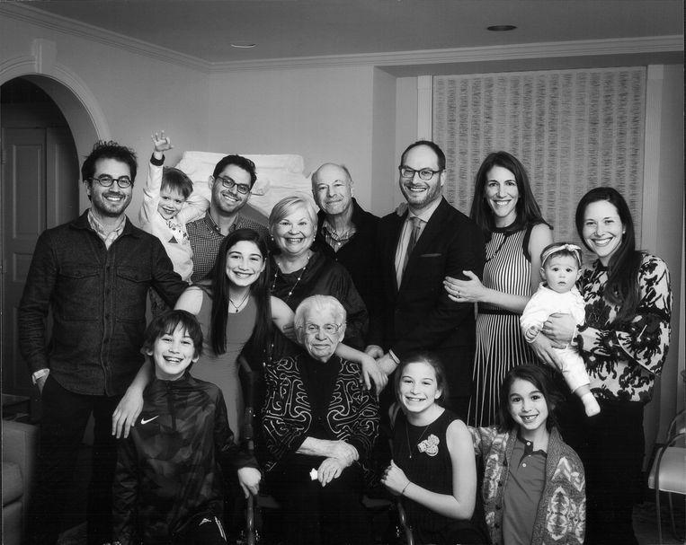 De familie Safran Foer. Beeld