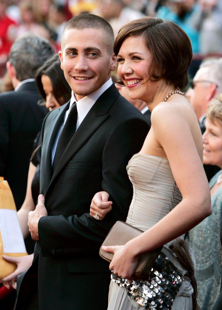 Jake Gyllenhaal en zijn zus, actrice Maggie Gyllenhaal.