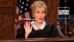 10 dingen die je niet wist over Judge Judy