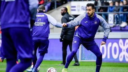 Anderlecht: Chadli mogelijk deze week terug, Vlap verliest goal op Waasland-Beveren aan Joveljic