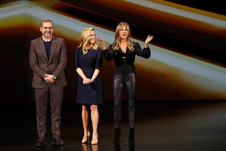 Steve Carrell, Reese Witherspoon en Jennifer Aniston