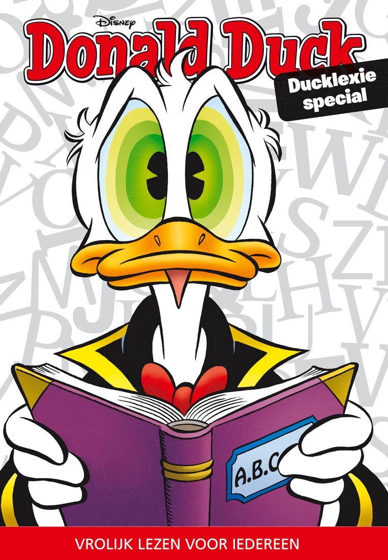 Cover Ducklexie-special Beeld Donald Duck