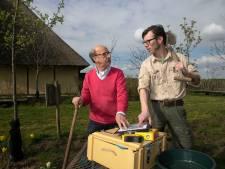 Archeologisch project in buurtschap Aarle: Een oor uit 1800 en gave bakstenen