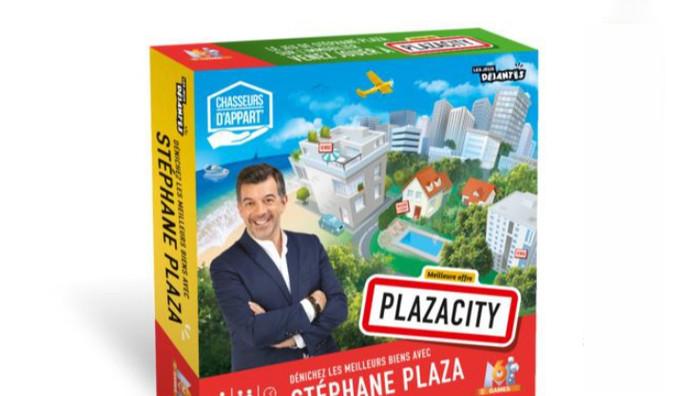 La boite de jeu Plaza City.