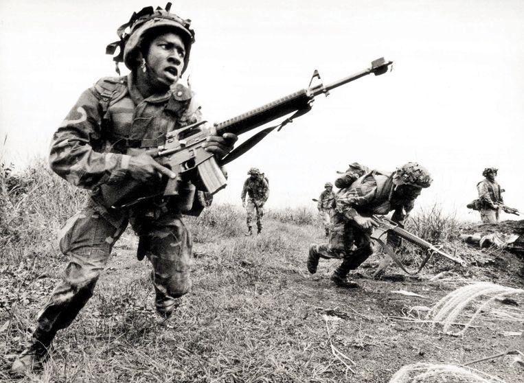 Militaire oefeningen tijdens de Koude Oorlog.