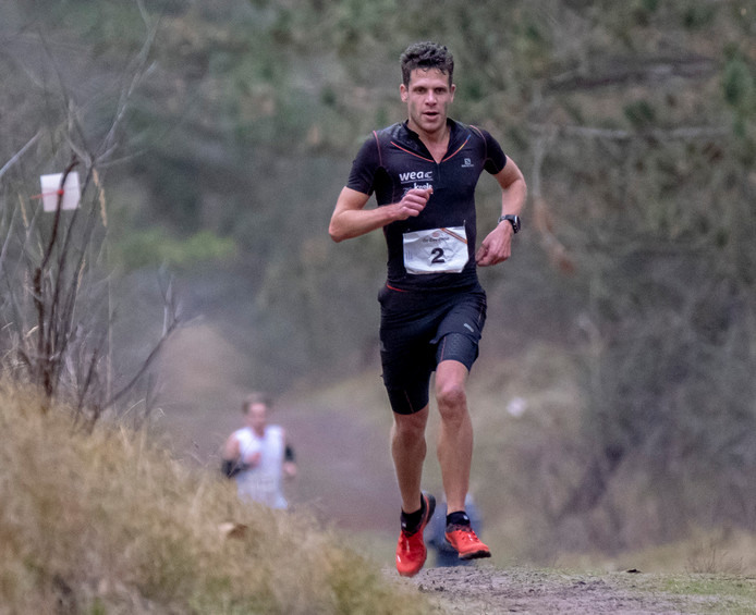 Tim Pleijte geldt als één van de topfavorieten op de 15 kilometer bij de eerste editie van de Bosbokkentrail.