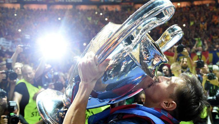 Messi met de Champions League