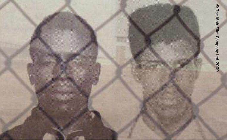 Albert Woodfox en Herman Wallace kort na hun arrestatie eind jaren zestig. Beeld Trouw