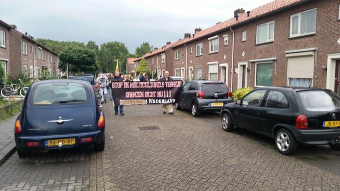 Een eerdere demonstratie die plaatsvond in de Schadewijk in Oss.